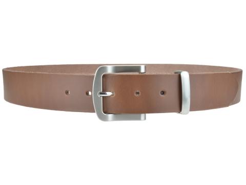 BULLJEANS N°15 | Ceinturon police style en cuir couleur chataigne boucle brossée 3
