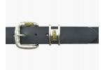 BULLJEANS N°19 | Ceinturon en cuir couleur noir boucle jeans édition limitée 3