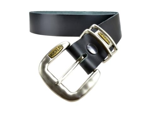 BULLJEANS N°19 | Ceinturon en cuir couleur noir boucle jeans édition limitée 4