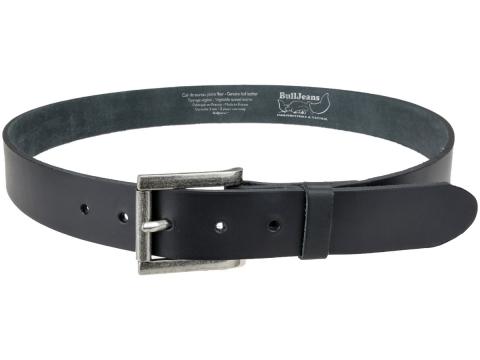 ceinture bull 3,5 cm brossée evasée
