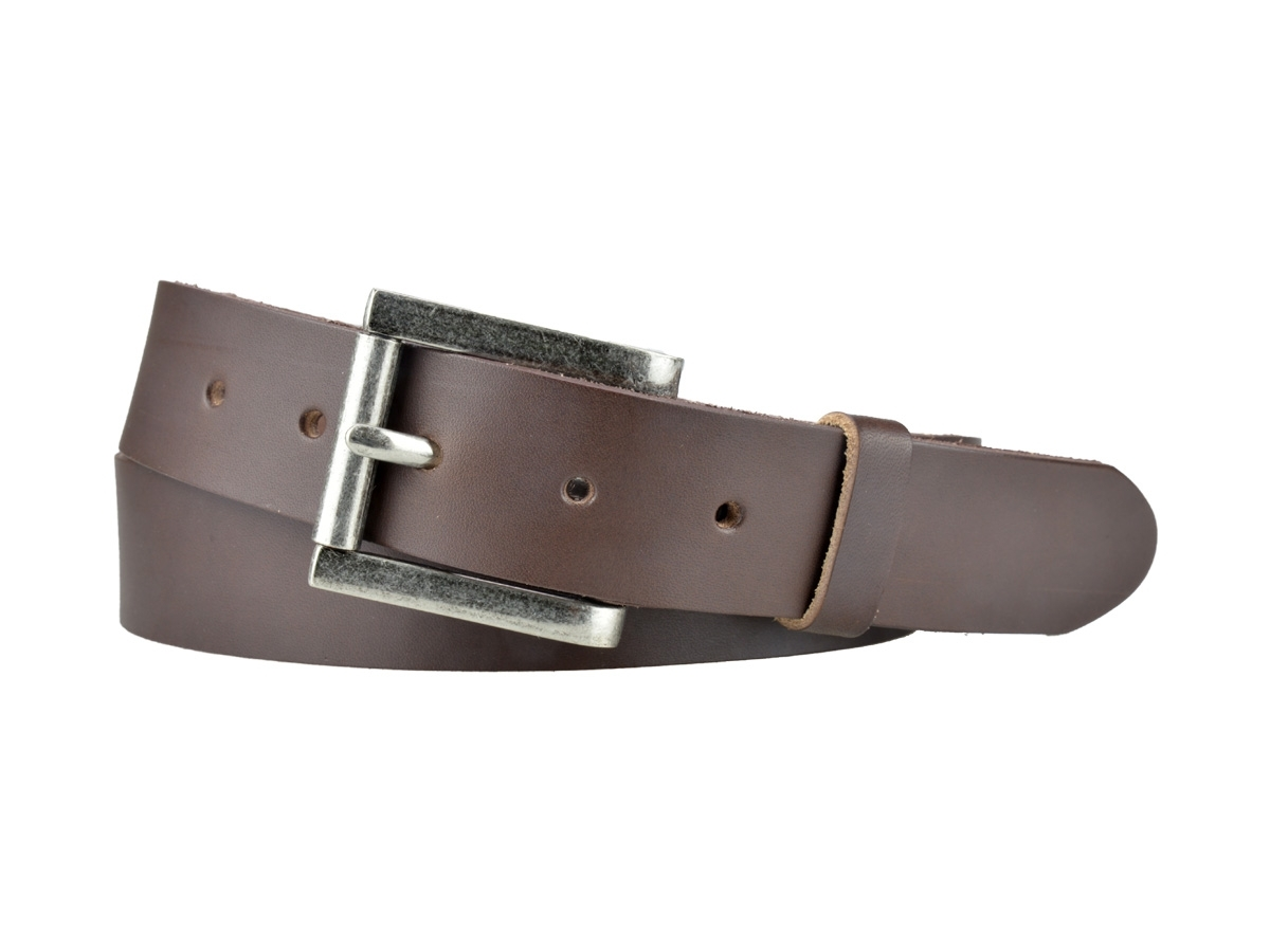 ceinture bull 3,5 cm evasée brillante