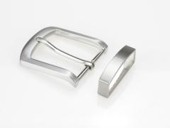 Boucle de ceinture 35 mm  N°5 Classique brossée