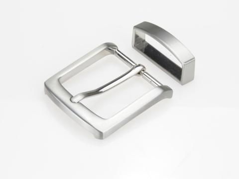 Boucle de ceinture 35 mm  N°5 Classique brossée 2