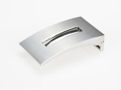 Boucle de ceinture 35 mm N°13 Plaque 4 finition brossée 2