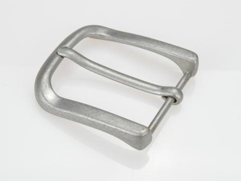 Boucle de ceinture 4 cm carré satinée