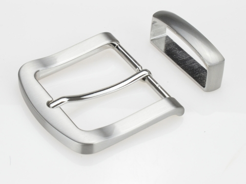 Boucle de ceinturons 40mm | N°4 Brossée classique