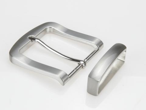 Boucle de ceinturons 40mm | N°4 Brossée classique 2