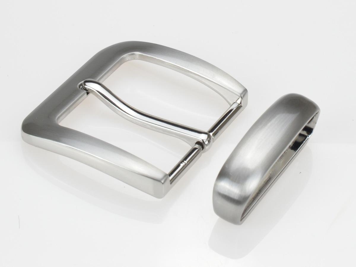 Boucle de ceinture 4 cm rectangulaire angles arrondis