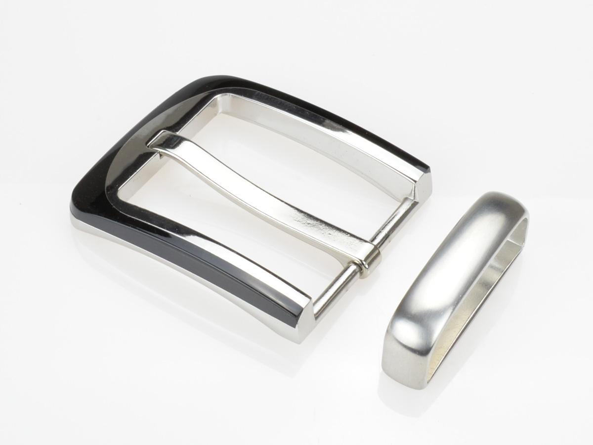 longue boucle de ceinture 4 cm angle arrondis