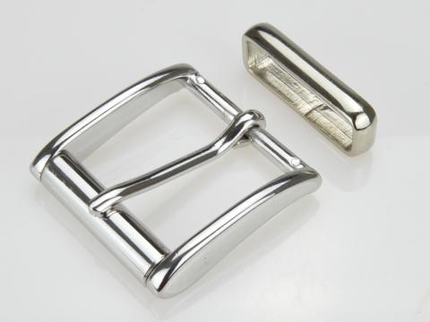 Boucle de ceinturons 40mm | N°16 Rouleau brillant