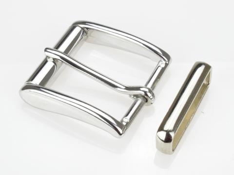 Boucle de ceinturons 40mm | N°16 Rouleau brillant 2