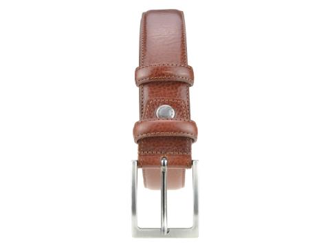 GAROT CLASSIQUE 35MM | N°6 Ceinture rouge anglais polyvalente, cuir finement granité