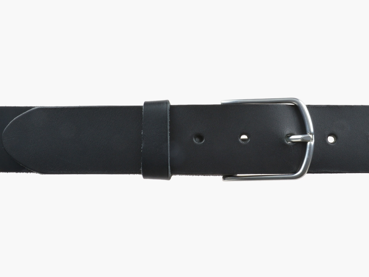 BULLJEANS40 Femme | N°5 Superbe ceinture noire jeans boucle ultra fine 4