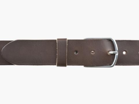 BULLJEANS40 Femme | N°5 Superbe ceinture marron jeans boucle ultra fine 4