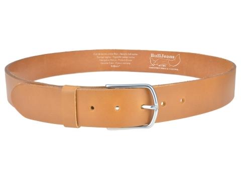 BULLJEANS40 Femme | N°5 Superbe ceinture camel jeans boucle ultra fine 3