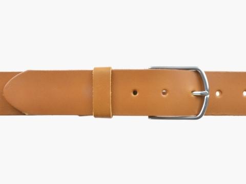 BULLJEANS40 Femme | N°5 Superbe ceinture camel jeans boucle ultra fine 4