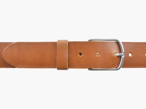 BULLJEANS40 Femme | N°5 Superbe ceinture cognac jeans boucle ultra fine