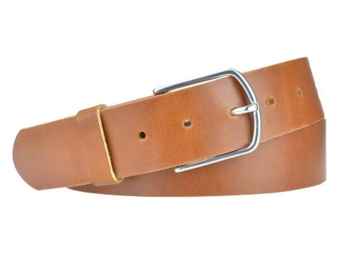BULLJEANS40 Femme | N°5 Superbe ceinture cognac jeans boucle ultra fine 4