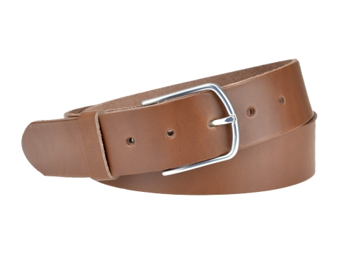 BULLJEANS40 Femme | N°5 Superbe ceinture châtaigne jeans boucle ultra fine 3