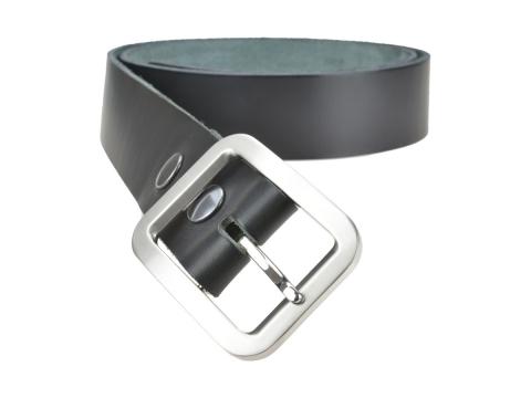 BULLJEANS40 Femme | N°10 Ceinture noire jeans boucle rectangle brossée 3
