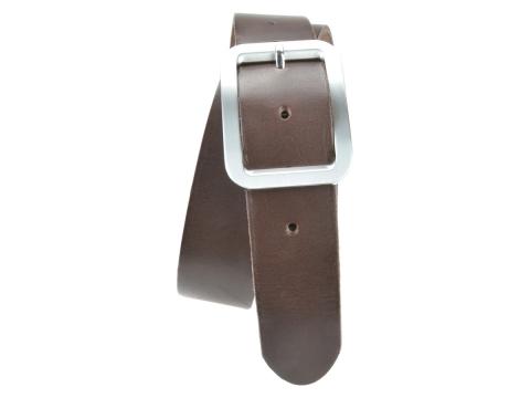 BULLJEANS40 Femme | N°10 Ceinture marron jeans boucle rectangle brossée 5