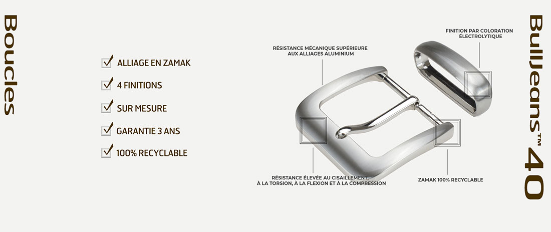 publicité boucles de ceintures