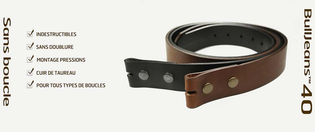 Photos de ceintures sans boucle