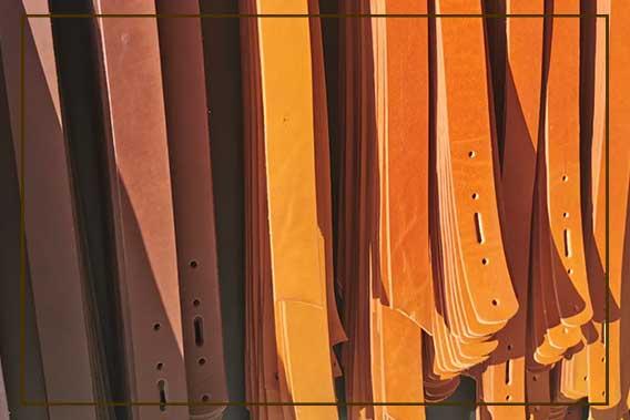 Photos de sangles de cuir de taureau